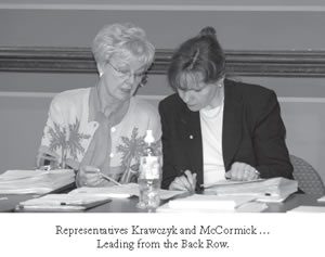 Rep. Krawczyk and McCormick