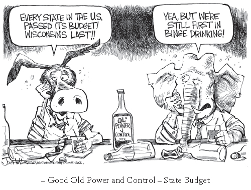 Power and Control in the State Budget